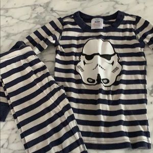 Hanna Andersson storm trooper pajamas size 120